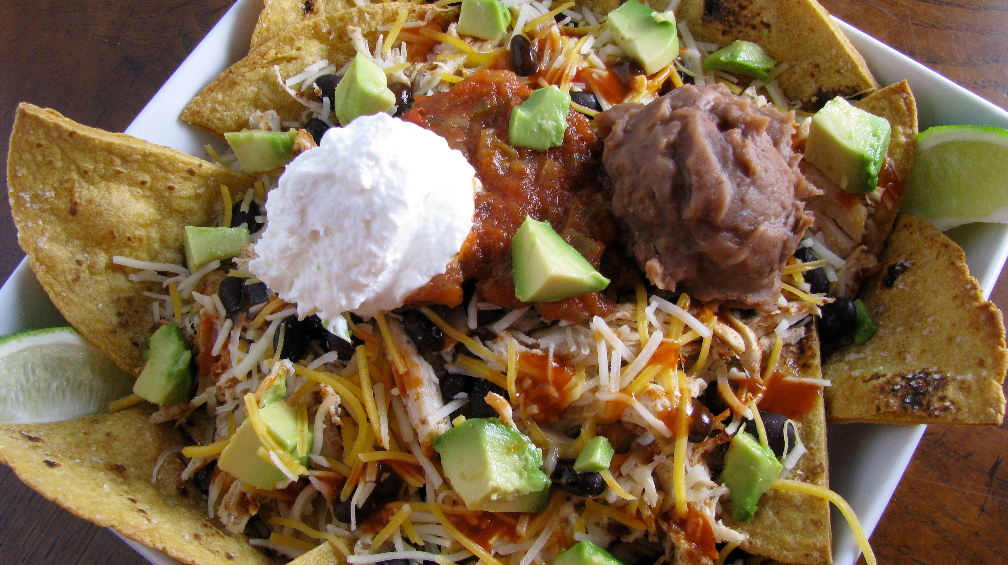 Loaded Baked Nachos The Healthy Way How Sweet Eats