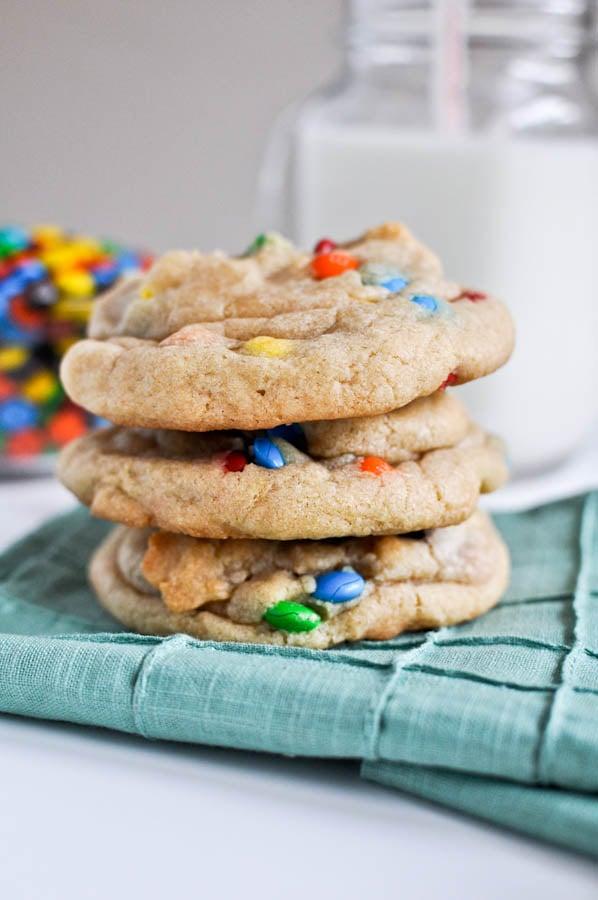 Giant Rainbow Cookies I howsweeteats.com