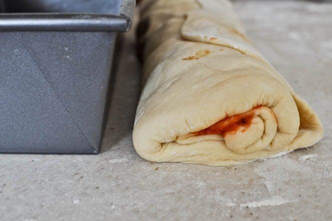 Pizza Swirl Bread I howsweeteats.com