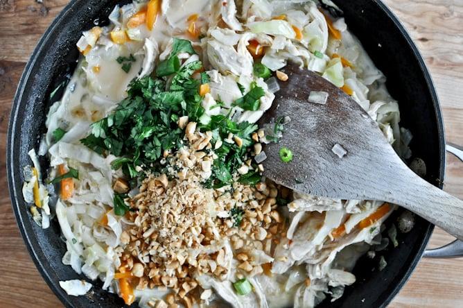 Thai Chicken Enchiladas I howsweeteats.com