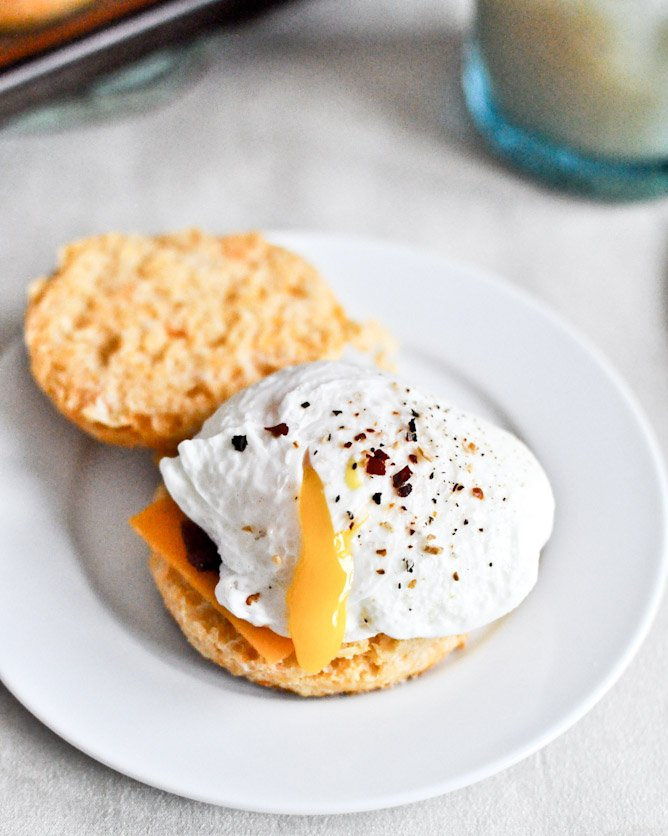 Sweet Potato Breakfast Biscuits I howsweeteats.com