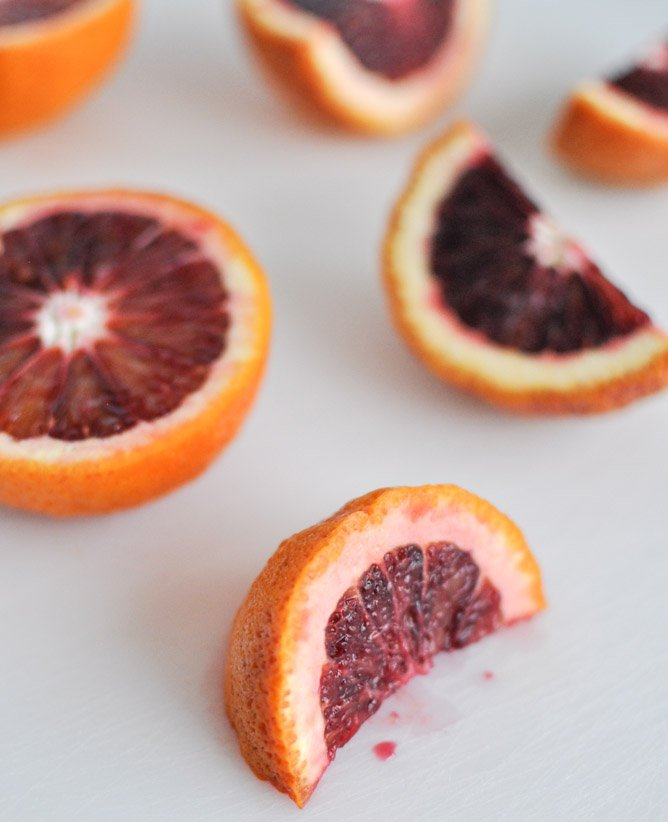 Blood Orange Sangria I howsweeteats.com