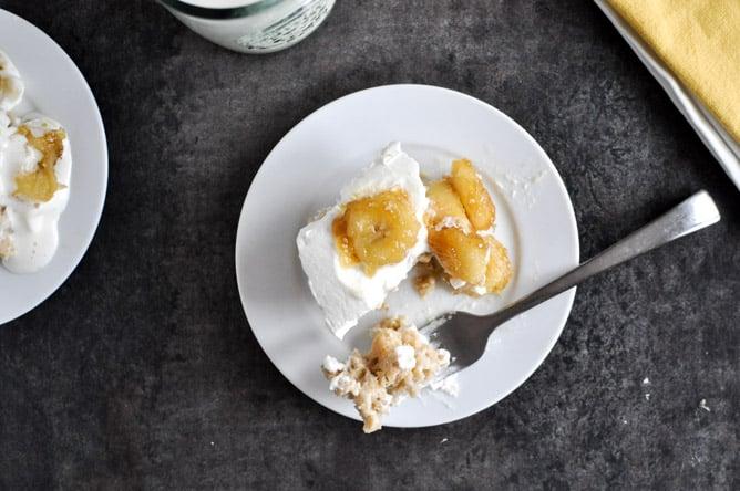 Banana Bread Tres Leches Cake I howsweeteats.com