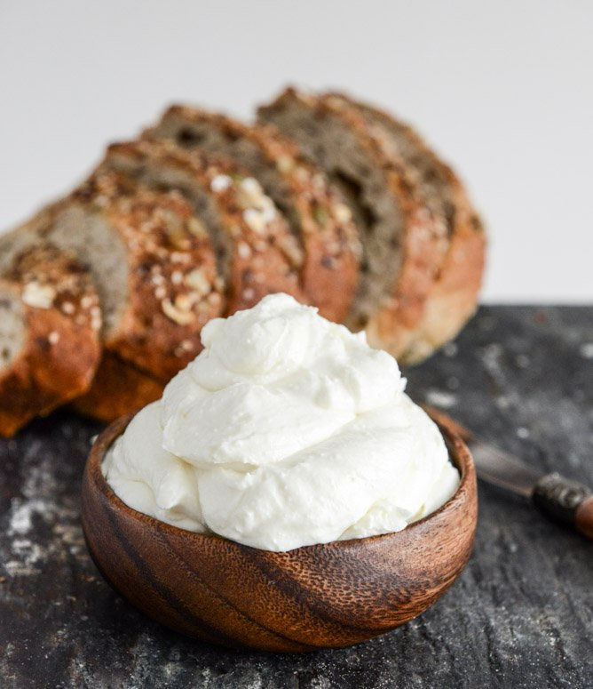 How To Make Whipped Feta I howsweeteats.com
