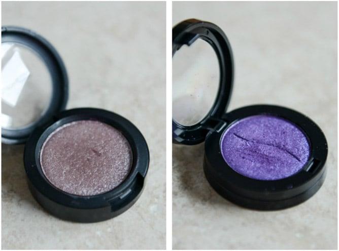 MAC Pressed Pigment in Black Grape, Sephora Casino Purple I howsweeteats.com