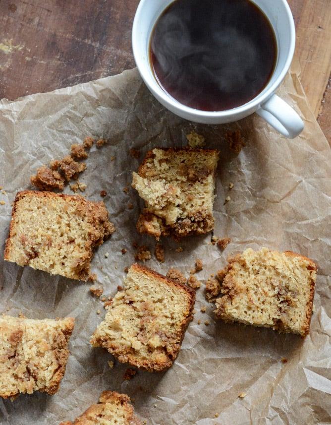 Pomegranate Molasses Coffee Cake I howsweeteats.com