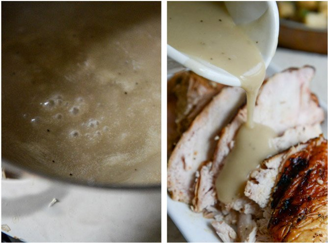 ... Smoked Turkey Breast with Cider Bourbon Gravy | How Sweet It Is