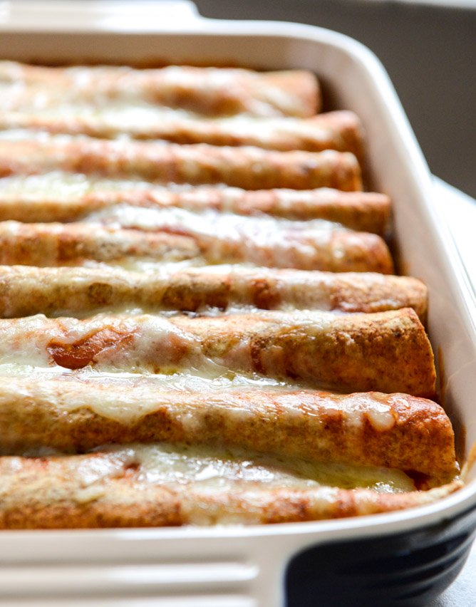 Beef Enchiladas - Beef Enchiladas with Homemade Enchilada ...