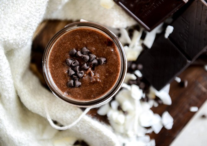 DIY Chocolate Coconut Sugar Scrub
