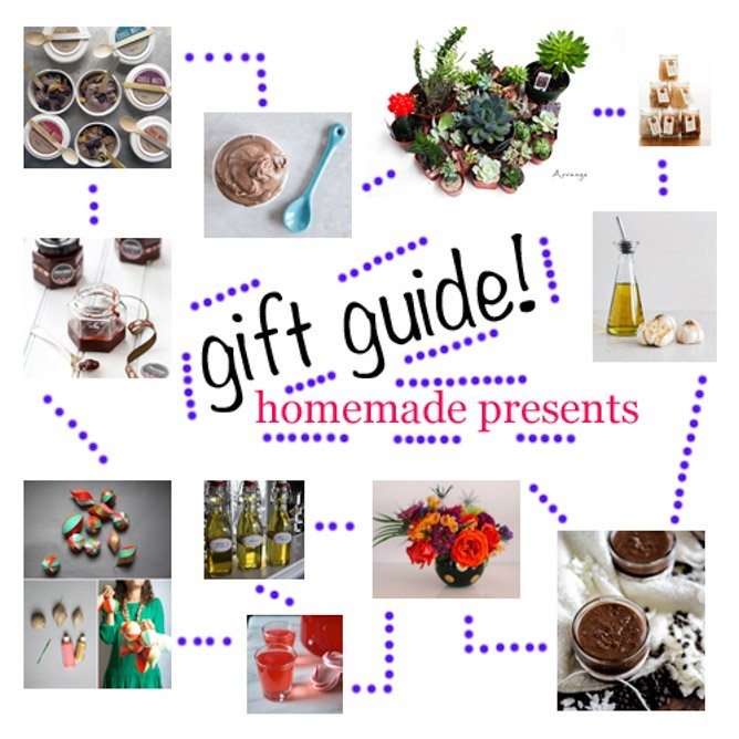 2013 Holiday Gift Guide: DIY Homemade Presents