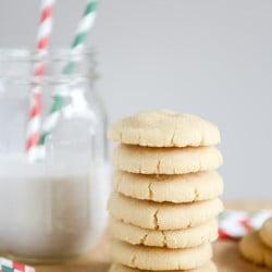 brown butter sugar cookies-5