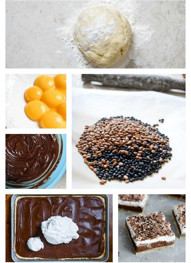 Chocolate Cream Slab Pie I howsweeteats.com