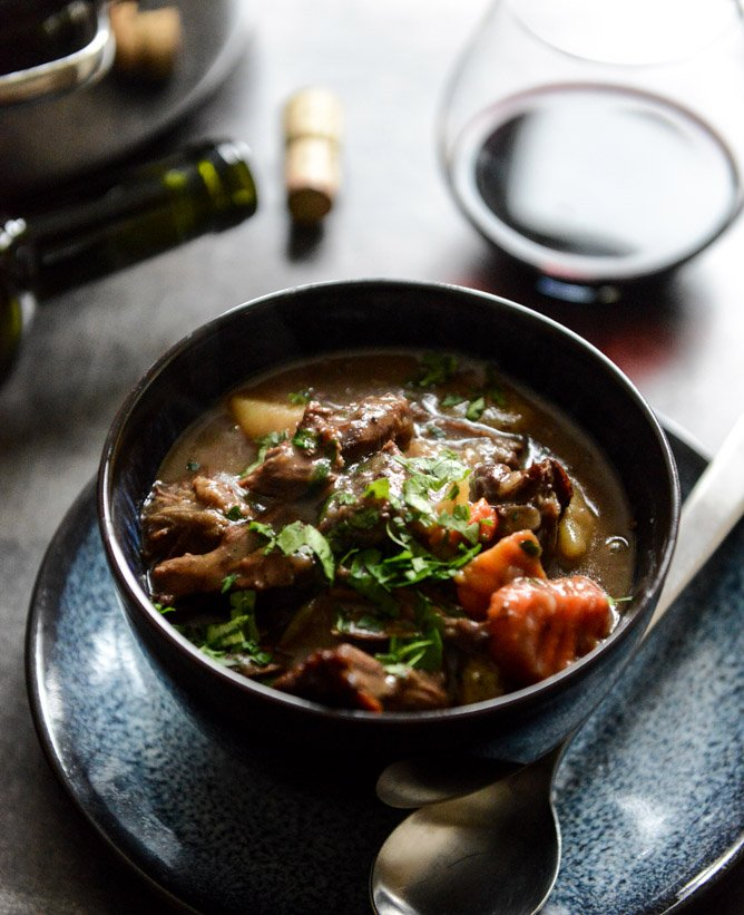 Cabernet Braised Short Rib Stew