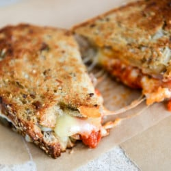 spicy meatball grilled cheese I howsweeteats.com-1