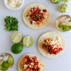 chipotle shrimp tacos I howsweeteats.com-1-3