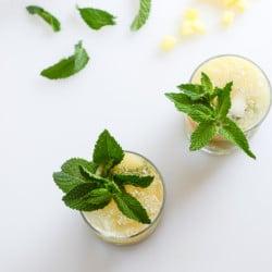 pineapple mint julep I howsweeteats.com-5