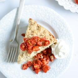cornmeal cake I howsweeteats.com-6