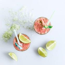 watermelon coconut shake I howsweeteats.com-5