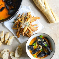 coconut curry mussels I howsweeteats.com-3
