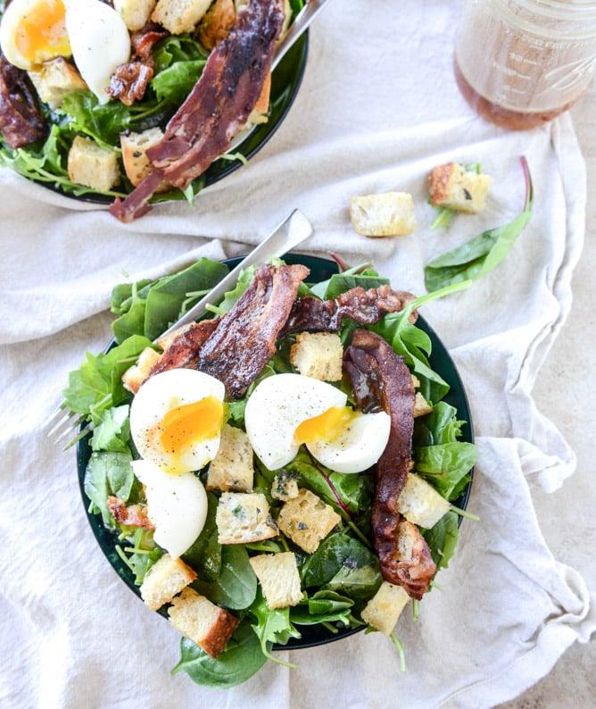 Baby Kale Breakfast Salad