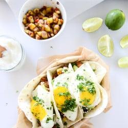 breakfast tacos I howsweeteats.com-6