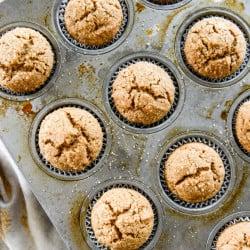 gingerbread muffins I howsweeteats.com-3