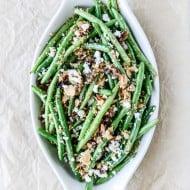 skillet green beans I howsweeteats.com-3