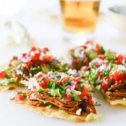pork tostadas I howsweeteats.com-6