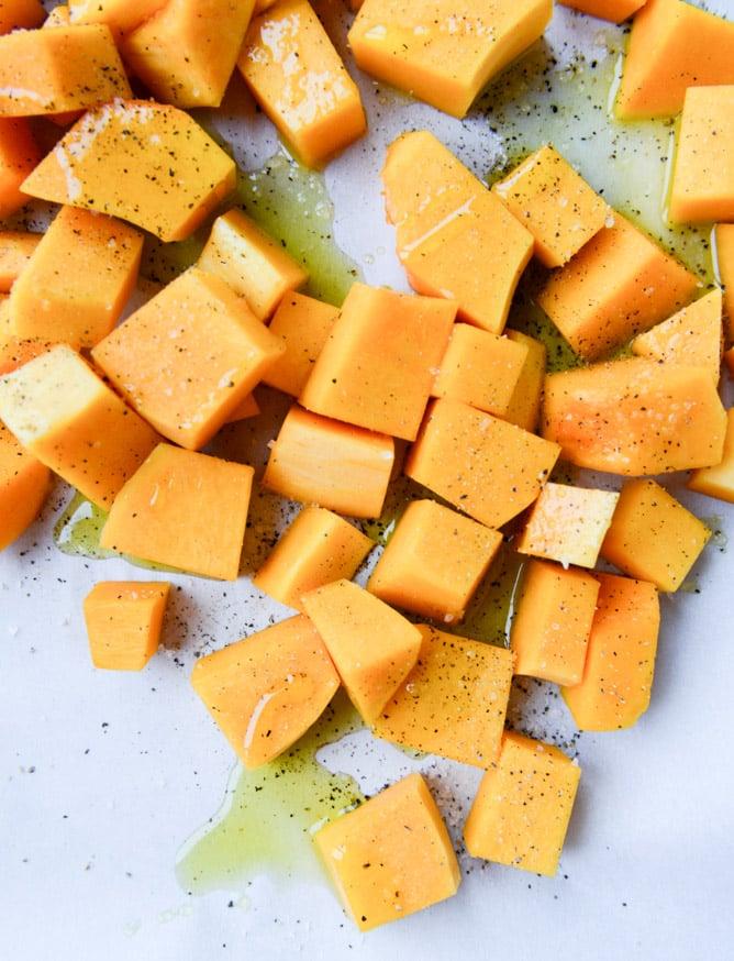 butternut squash goat cheese dip I howsweeteats.com