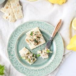 lemon almond chicken salad I howsweeteats.com-5