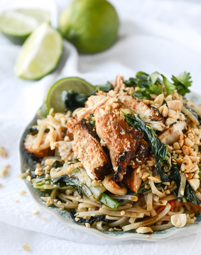 Thai Chicken Street Noodles