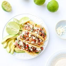 chicken tacos I howsweeteats.com-7