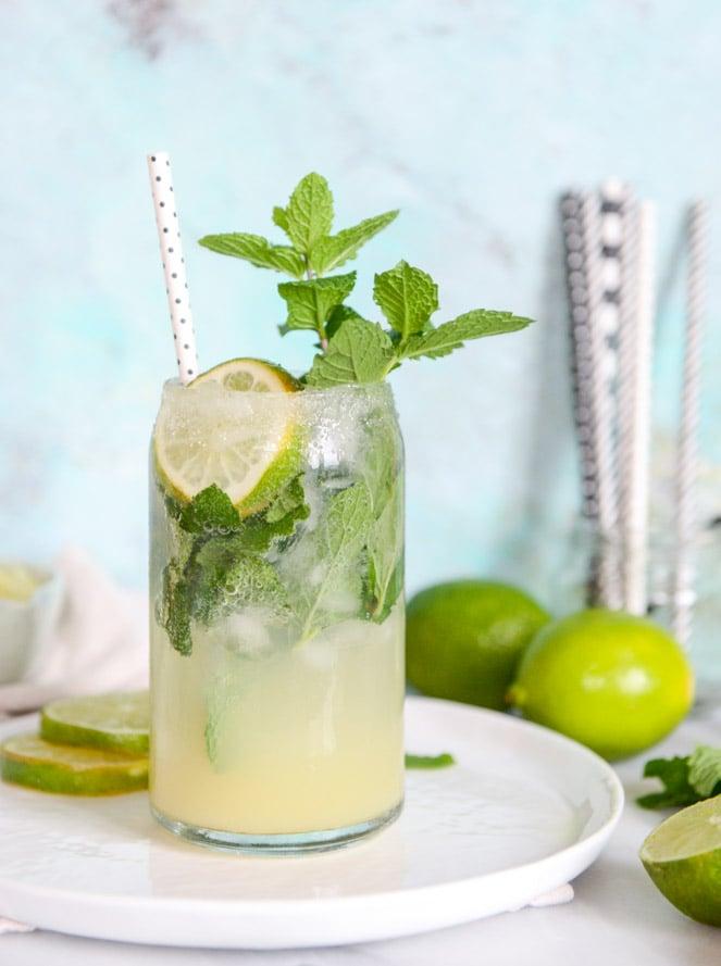 Mojito Margaritas. - How Sweet Eats