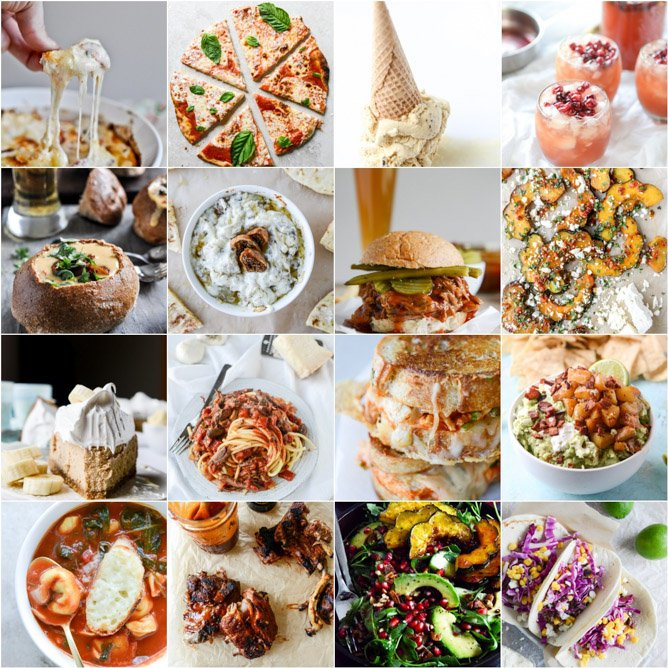 football food! 175 of the best recipes for football season. I howsweeteats.com