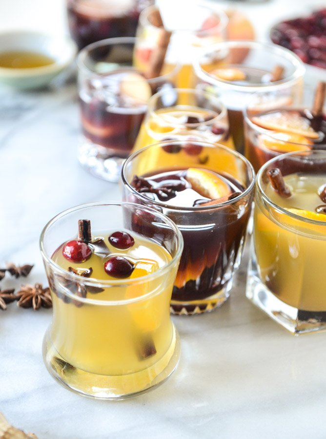 mulled wine, two ways I howsweeteats.com