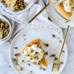 pumpkin cheesecake I howsweeteats.com-5