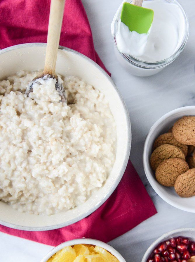 gingersnap breakfast risotto I howsweeteats.com