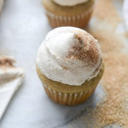 chai cupcakes I howsweeteats.com-9