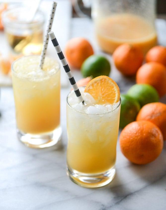 clementine cream soda I howsweeteats.com
