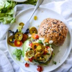 queso burgers I howsweeteats.com-6