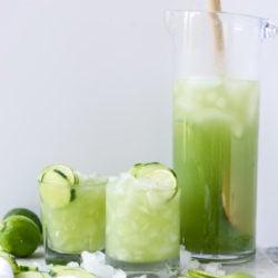 cucumber soda I howsweeteats.com-9