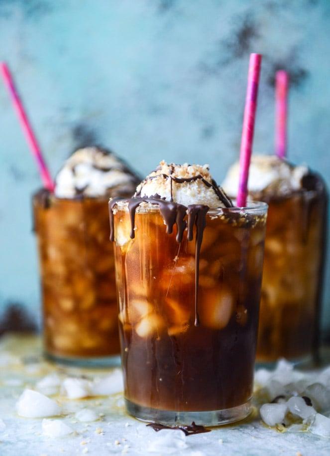 Cold Brew Coffee Soda Float | Ice Cream Float Recipes | Homemade Recipes