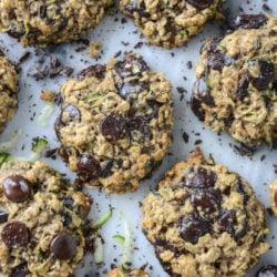 oatmeal zucchini cookies I howsweeteats.com-6