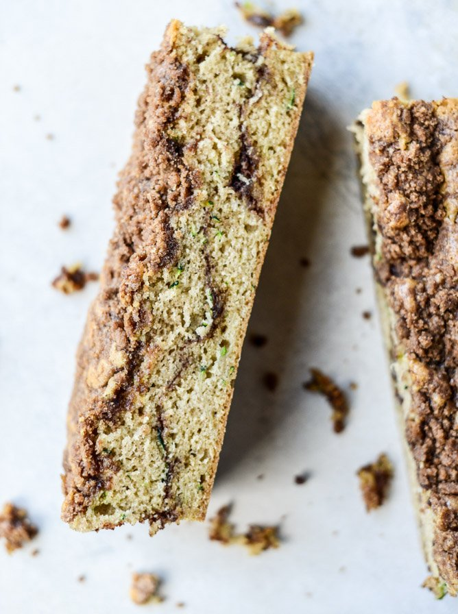 zucchini bread coffee cake by @howsweeteats I howsweeteats.com