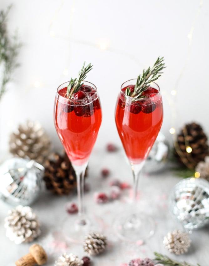 christmas morning mimosas I howsweeteats.com