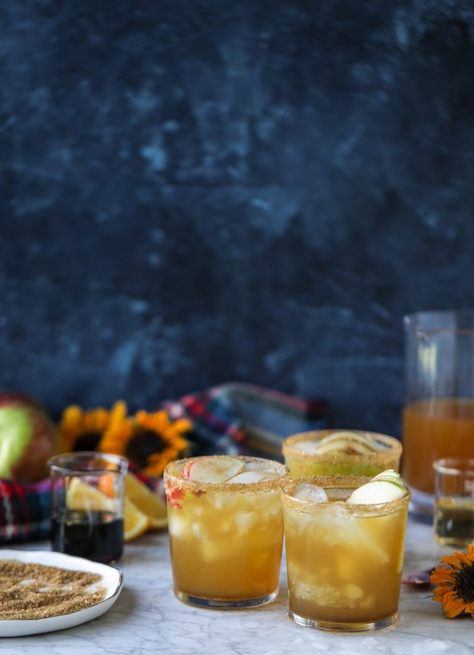 maple honeycrisp margarita I howsweeteats.com