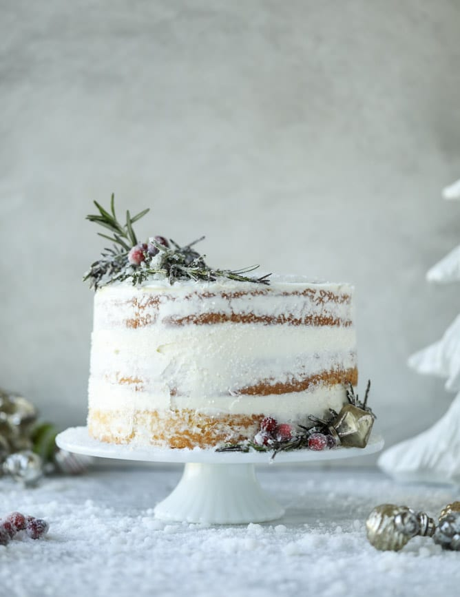 Christmas cake recipe white christmas sparkle cake white christmas sparkle cake i howsweeteats christmas cake vanilla almond forumfinder Image collections