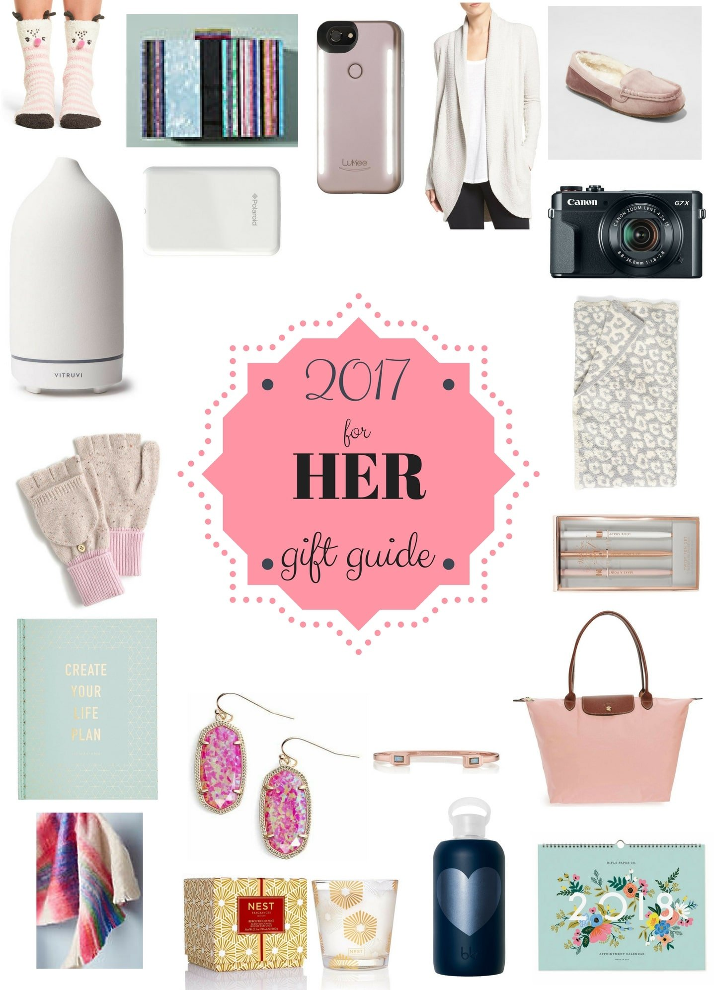 Gift Guide for Her - 2017 Holiday Gift Guide for Women