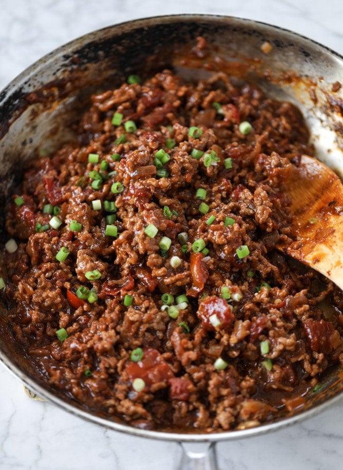 asian style sloppy joes I howsweeteats.com #sloppyjoes #recipes