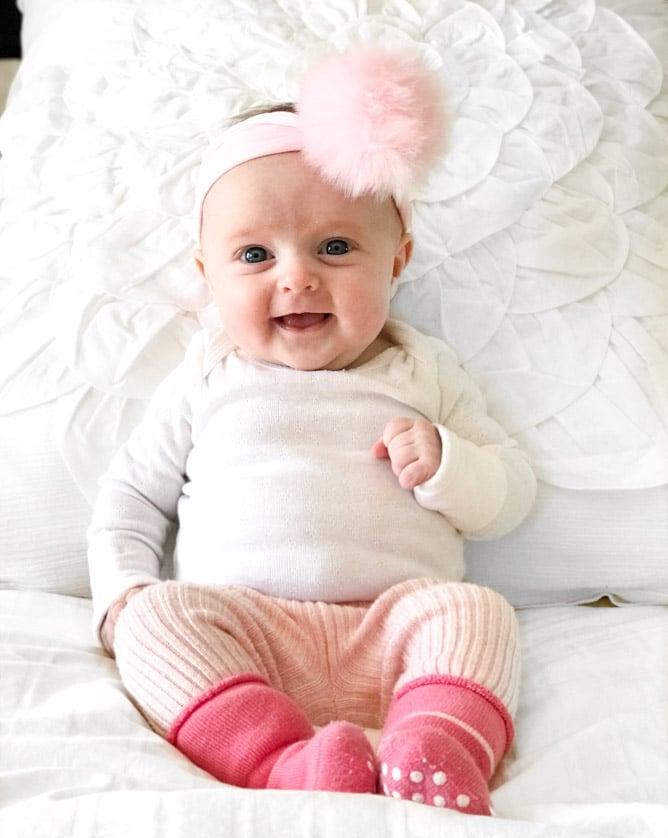 life with emilia at 10 weeks I howsweeteats.com